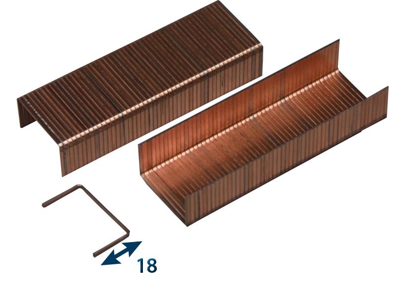 Spona do sešívačky JK 561-18 (OEM - balení po 3960ks) / (387/18) - 3960 ks