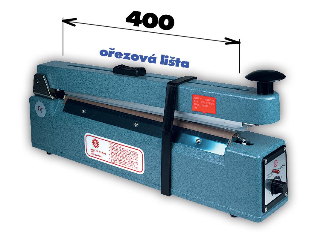 Svářečka KF 400 HC s ořezem - šíře čelisti 400mm